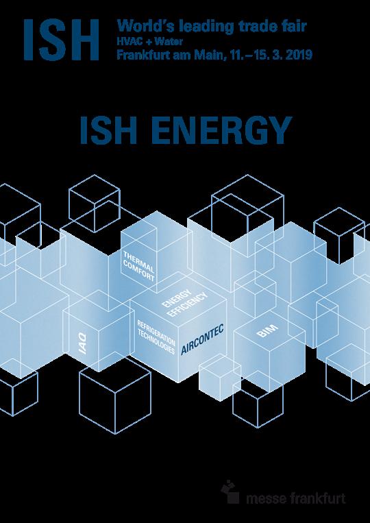 Логотип выставки ISH Energy