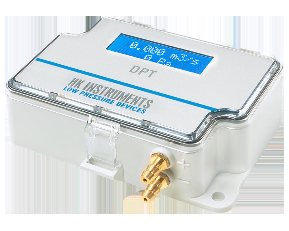 Датчик дифференциального давления с интерфейсом ModBus и входным терминалом